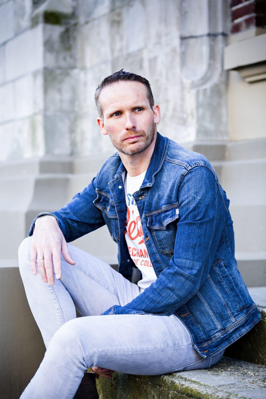 portrait male fashion photography