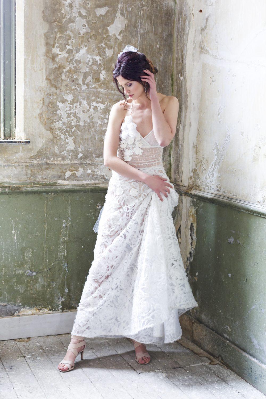 wedding dress desar model fashion bruiloft fotograaf