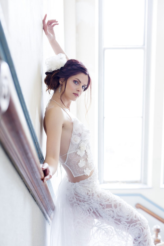 wedding portrait women fashion desar